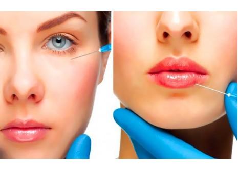 Коррекция возрастных изменений, увеличение губ