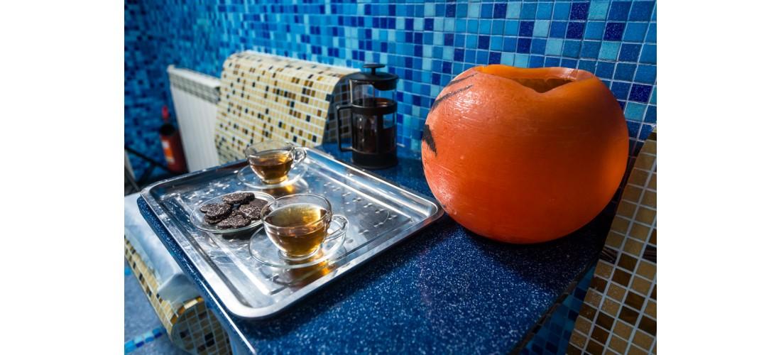 Чаепития во время ХАММАМА.