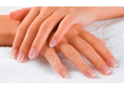 Укрепление натуральных ногтей гель-пудрой